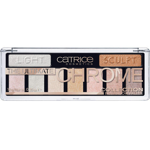 Палетка теней The Ultimate Chrome Collection Eyeshadow Palette (Catrice, Глаза)