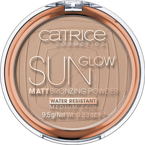 Бронзирующая пудра Sun Glow Matt Bronzing Powder (Catrice, Лицо) бронзатор kiss all over glow bronzing powder abp03 цвет abp03 bronze variant hex name ce835f