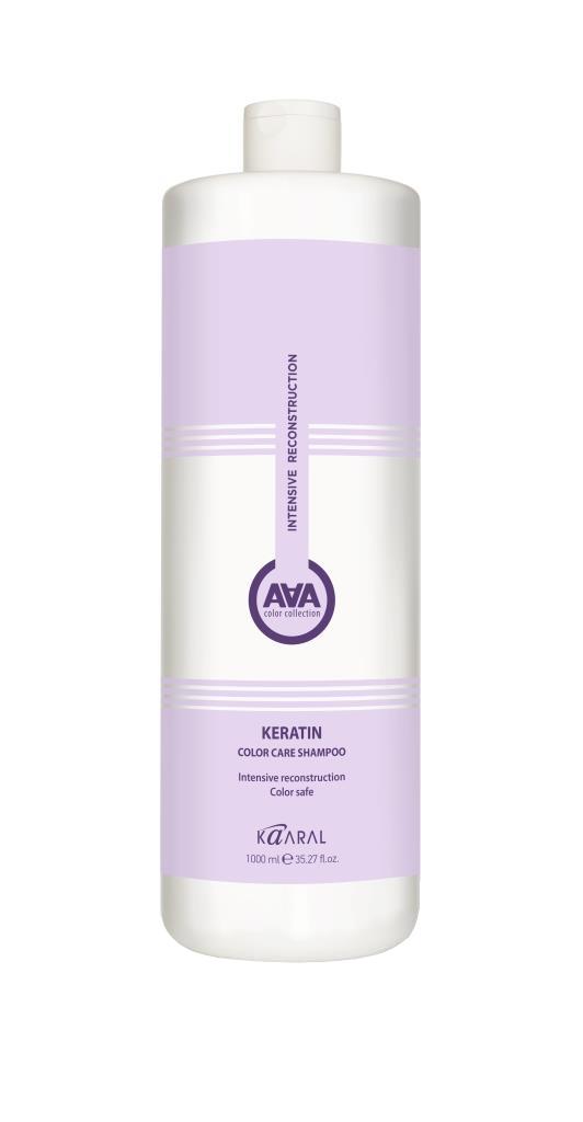 Купить Kaaral Кератиновый шампунь для окрашенных и химически обработанных волос 1000 мл (Kaaral, Keratin Color Care), Италия