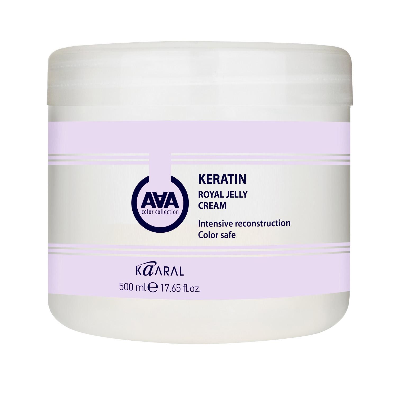 Купить Kaaral Питательная крем-маска для восстановления окрашенных и химически обработанных волос 500 мл (Kaaral, Keratin Color Care), Италия
