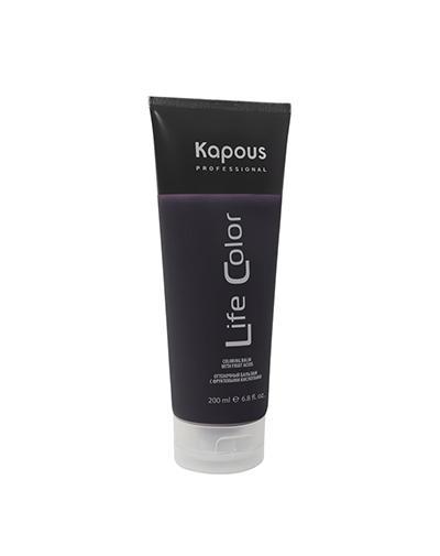 Оттеночный бальзам для волос Life Color Коричневый 200 мл (Kapous Professional, Life Color) недорого