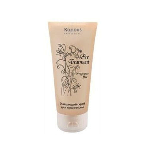 Очищающий скраб для кожи головы PreTreatment 150 мл (Kapous Professional, Treatment) vichy скраб для кожи головы