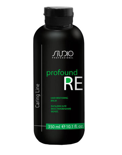 Бальзам для восстановления волос Profound Re 350 мл (Kapous Professional, Studio) kapous бальзам для восстановления волос caring line profound re 350 мл