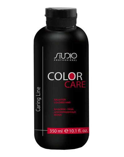 Бальзам для окрашенных волос Color Care 350 мл (Kapous Professional, Studio) шампуньуход для окрашенных волос color care 350 мл kapous professional studio