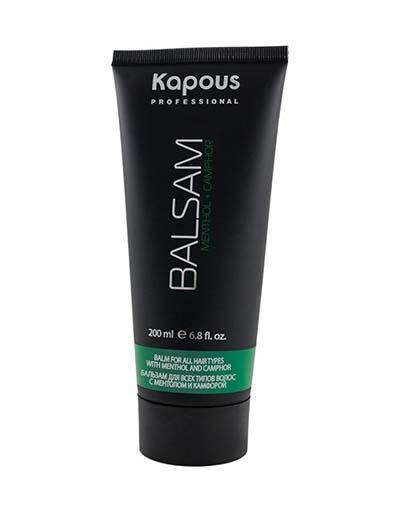 Купить Kapous Professional Бальзам для всех типов волос с ментолом и маслом камфоры, 200 мл (Kapous Professional, Для всех типов волос), Италия