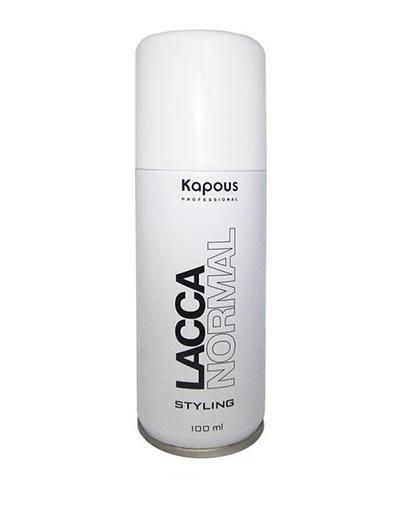 Kapous Professional Аэрозольный лак для волос нормальной фиксации 100 мл (Kapous Professional, Средства для укладки) kapous professional аэрозольный лак для волос нормальной фиксации 100 мл kapous professional средства для укладки