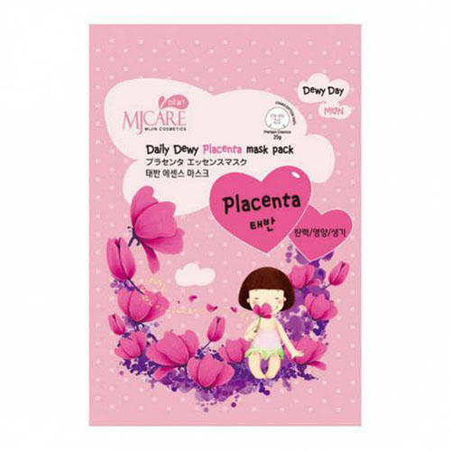 Тканевая маска с плацентой Mijin 25 г (Mijin, MjCare) шампунь с плацентой evinal