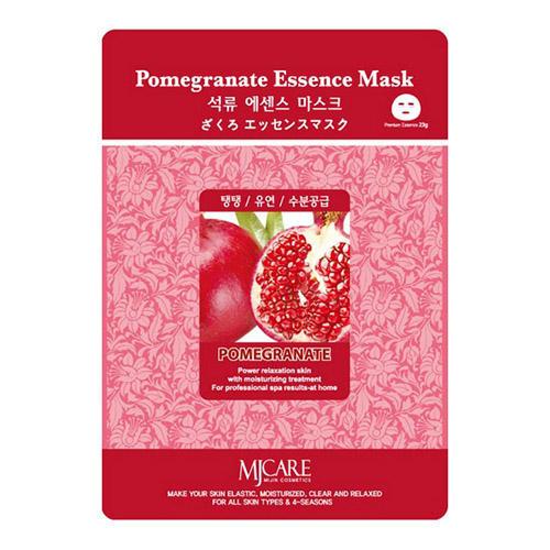 Тканевая маска гранат Pomegranate Essence Mask Mijin 23 г (Mijin)