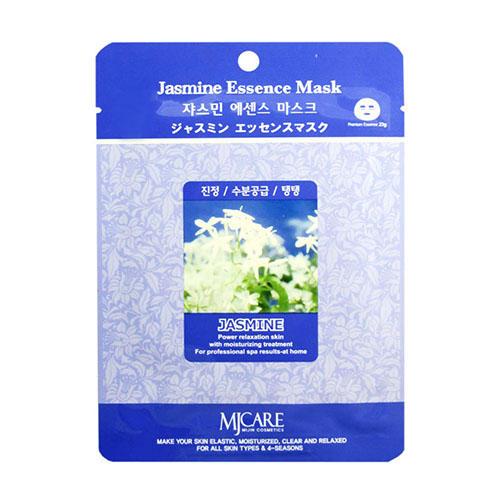 Тканевая маска жасмин Jasmine Essence Mask Mijin 23 г (MjCare)
