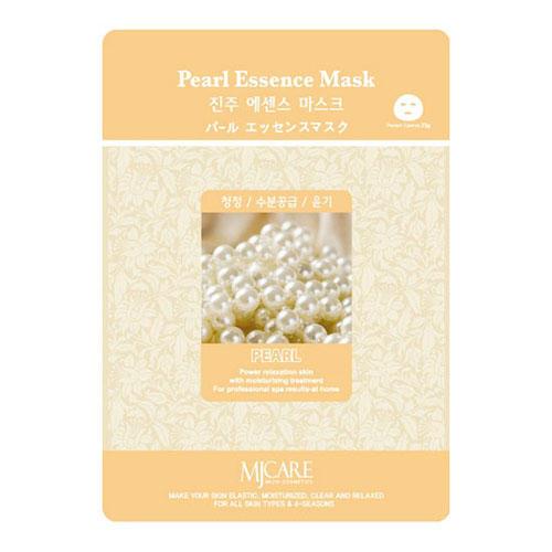 Тканевая маска жемчуг Pearl Essence Mask Mijin 23 г (MjCare)
