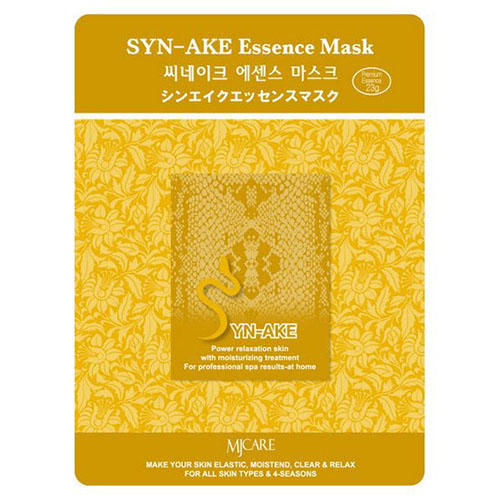 все цены на Тканевая маска змеиный яд SynAke Essence Mask Mijin 23 г (Mijin, MjCare) онлайн