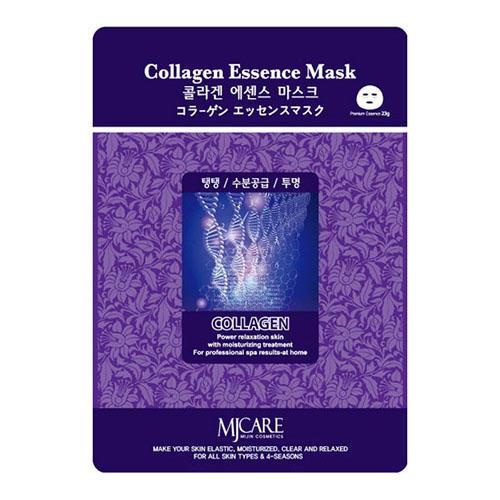 Тканевая маска коллаген Collagen Essence Mask Mijin 23 г (Mijin)