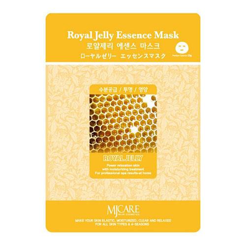 Тканевая маска маточное молочко Royal Jelly Essence Mask Mijin 23 г (MjCare)