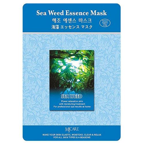Тканевая маска морские водоросли Sea Weed Essence Mask Mijin 23 г (MjCare)