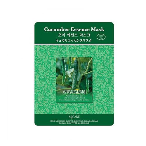 все цены на Тканевая маска огурец Cucumber Essence Mask Mijin 23 г (Mijin, MjCare) онлайн