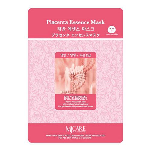 Тканевая маска плацента Placenta Essence Mask Mijin 23 г (Mijin, MjCare) оксана теслова марина кустова und светлана кравченко впч в системе мать плацента плод новорожденный