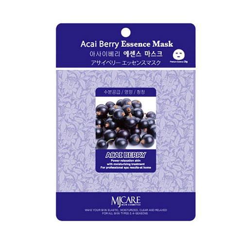 Тканевая маска ягоды асаи Acai Berry Essence Mask Mijin 23 г (MjCare)