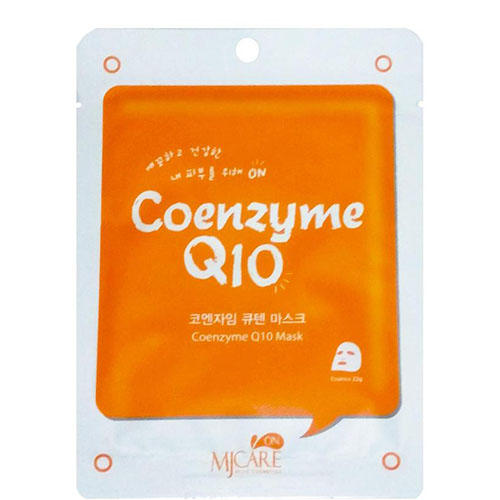 Тканевая маска с коэнзимом MJ on Coenzyme Q10 Mask Pack Mijin 22 г (Mijin, MjCare) coenzyme q10 manufacturers q10 coenzyme coenzyme q10 supplement