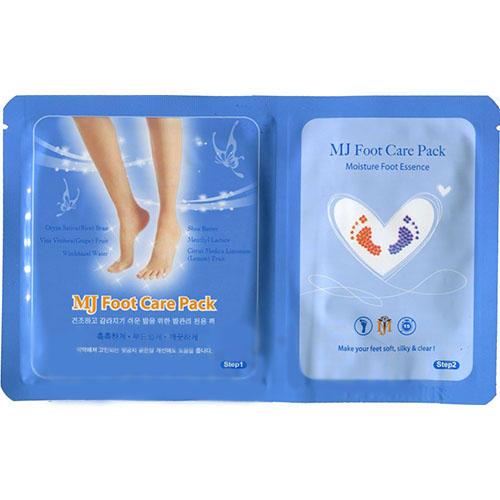 Маска для ног с гиалуроновой кислотой Foot Care Pack Mijin 22 г (Mijin, MjCare) estelare ampoule foot mask маска носочки ампульная для ухода за кожей ног 22 г