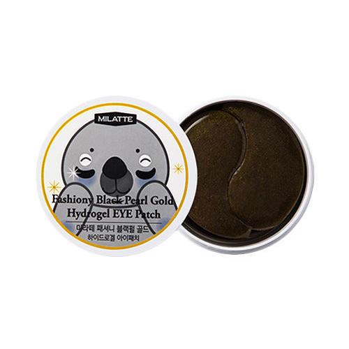 Патчи для кожи вокруг глаз с черным жемчугом и золотом Milatte 90 г (Milatte, Eye Milatte) beauugreen гидрогелевые патчи для кожи вокруг глазс экстрактом морского огурца 60х4 г