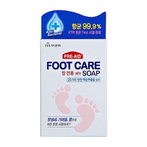 Мыло для ног Foot Care Soap, 1 шт (Mukunghwa, Для тела)
