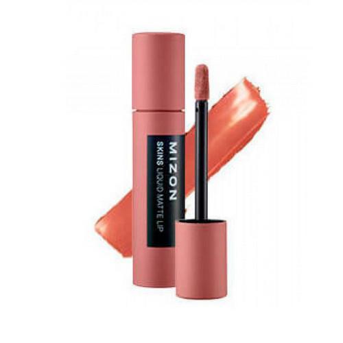 Помада матовая жидкая Skins Liquid Matte Lip 6гр (Mizon, Для губ) skins skinb59039934