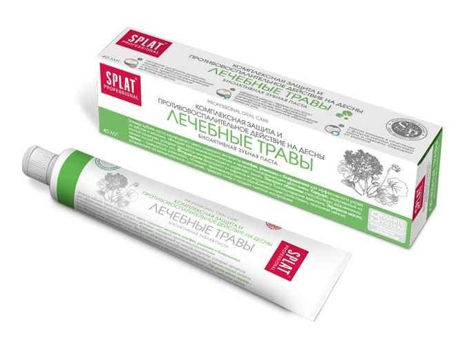Купить Splat Лечебно-профилактическая профессиональная зубная паста Лечебные травы Компакт 40 мл (Splat, Professional), Россия