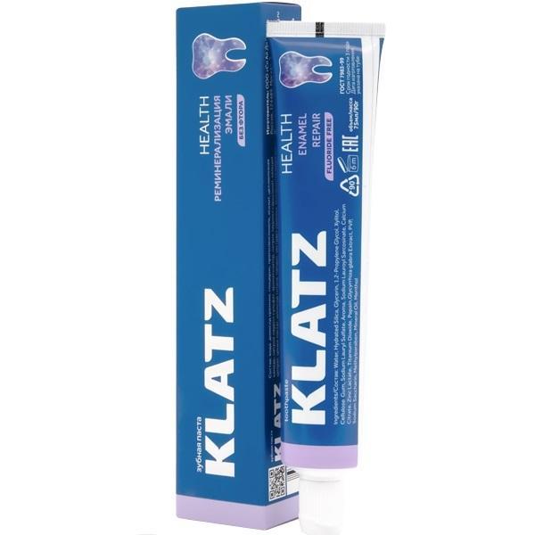 Купить Klatz Зубная паста Реминерализация эмали, 75 мл (Klatz, Health), Россия