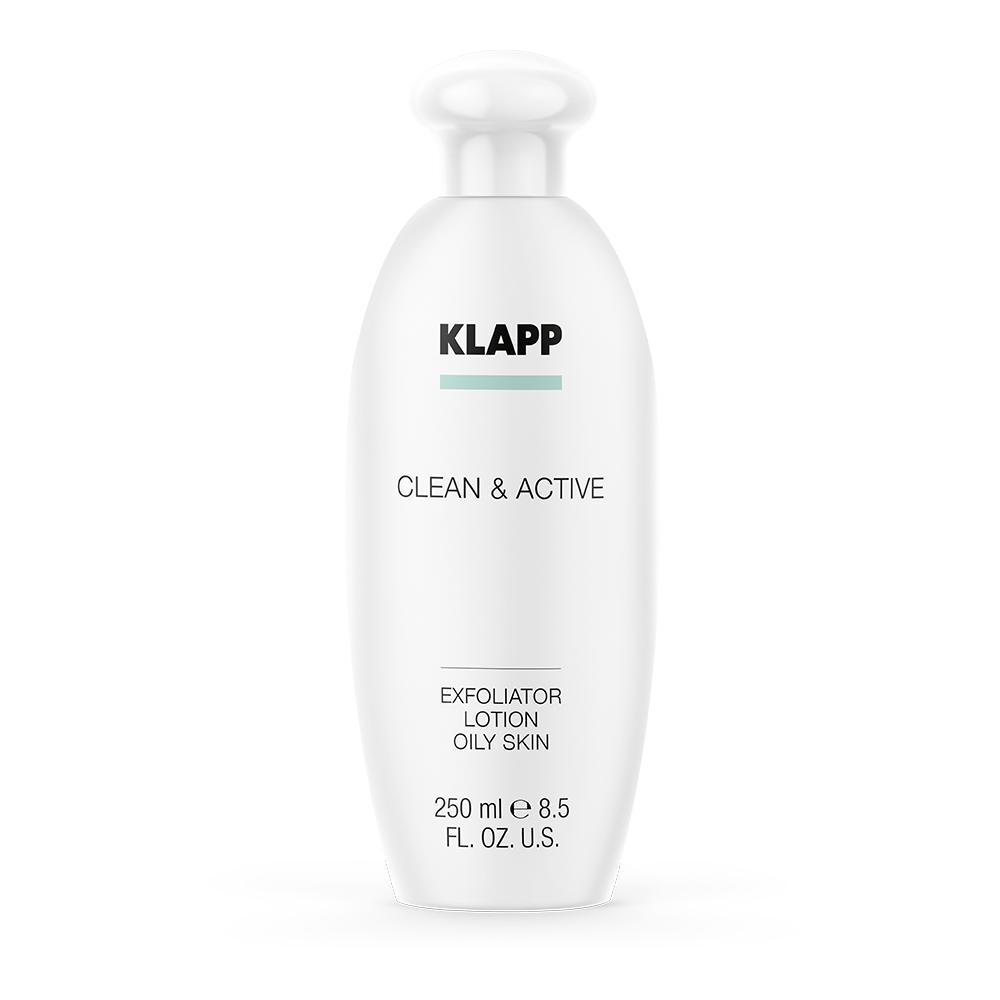 Купить Klapp Эксфолиатор для жирной кожи, 250 мл (Klapp, Clean & active), Германия