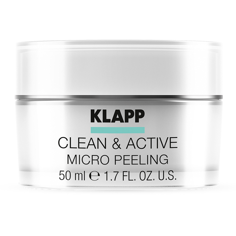 Купить Klapp Микропилинг CLEAN & ACTIVE Micro Peeling, 50 мл (Klapp, Clean & active), Германия