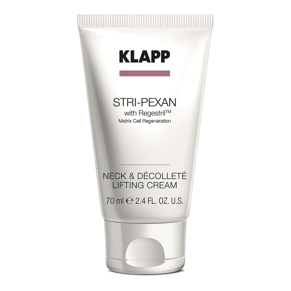 Klapp Лифтинг-крем для шеи и декольте, 70 мл (Klapp, Stri-pexan) klapp stri pexan eye care интенсивный крем для век 20 мл