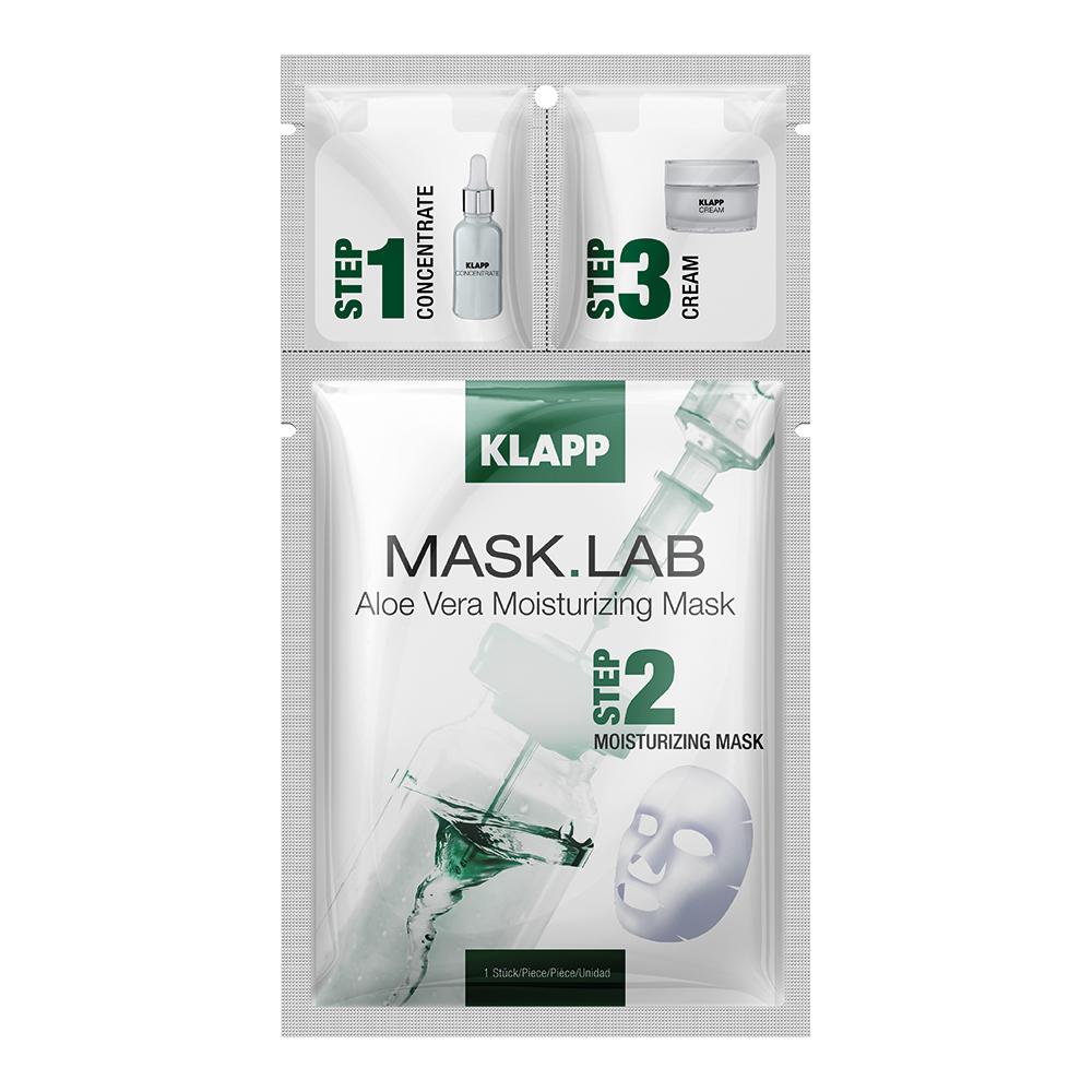 Купить Klapp Набор Aloe Vera Moisturizing Mask 1 шт (Klapp, Mask.Lab), Германия