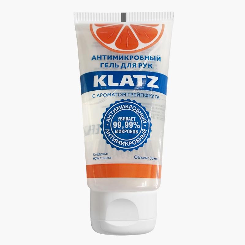 Купить Klatz Антимикробный гель для рук с ароматом грейпфрута, 50 мл (Klatz, Antimicrobial), Россия