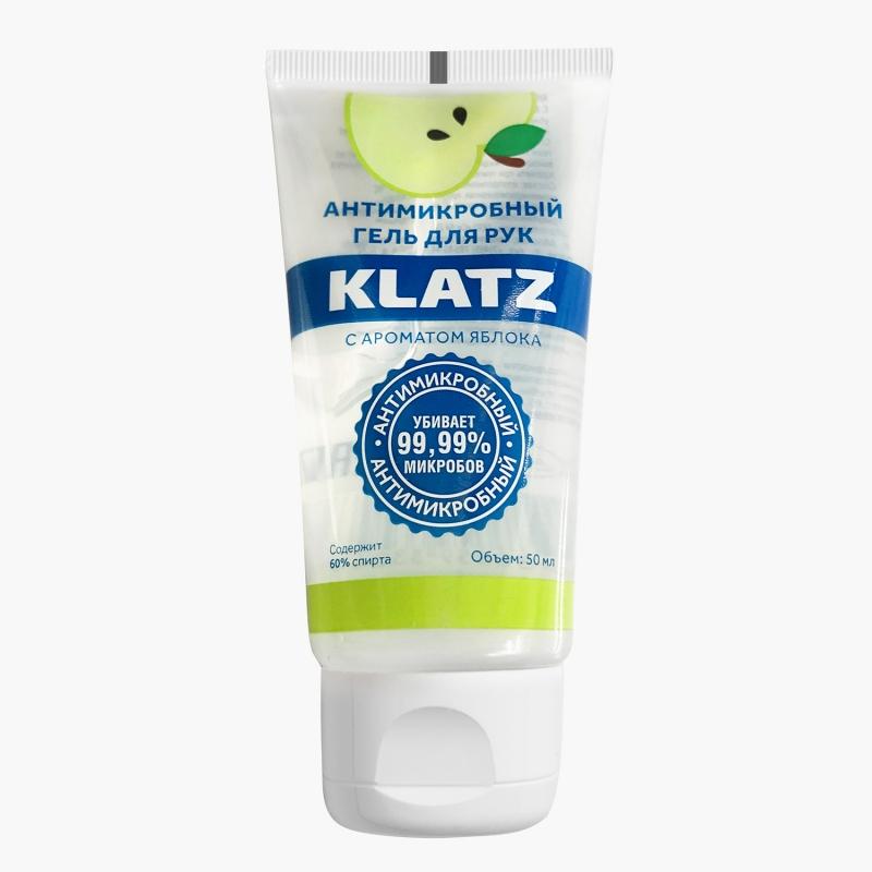 Купить Klatz Антимикробный гель для рук с ароматом яблока 50 мл (Klatz, Antimicrobial), Россия