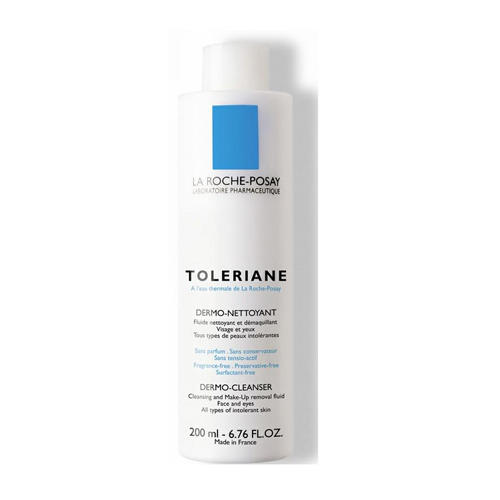 Молочко очищающее для сухой и обезвоженной чувствительной кожи Толеран (La RochePosay, Toleriane) толеран молочко цена