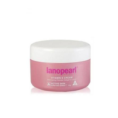 Lanopearl Vitamin E Крем с маслом вечерней примулы, коллагеном и ланолином 100 гр (Lanopearl)