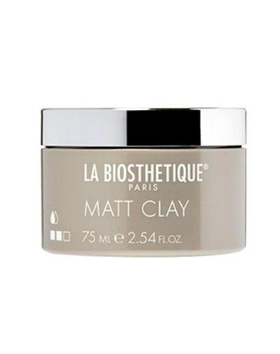 LaBiosthetique Matt Clay Структурирующая и моделирующая паста для матовых образов 75 мл (LaBiosthetique, Style)