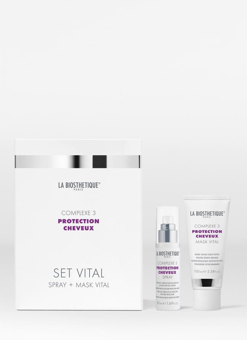 LaBiosthetique Витализирующий дует с мощным молекулярным комплексом защиты волос Set Vital Complexe 3, 50 мл + 100 (LaBiosthetique, Protection Cheveux Complexe) фото