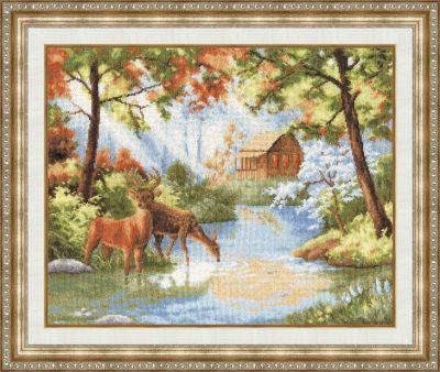 ЛП042 Тихий уголок. Лирический пейзаж (Золотое Руно, Золотое Руно) лп033 лесной страж лирический пейзаж золотое руно золотое руно