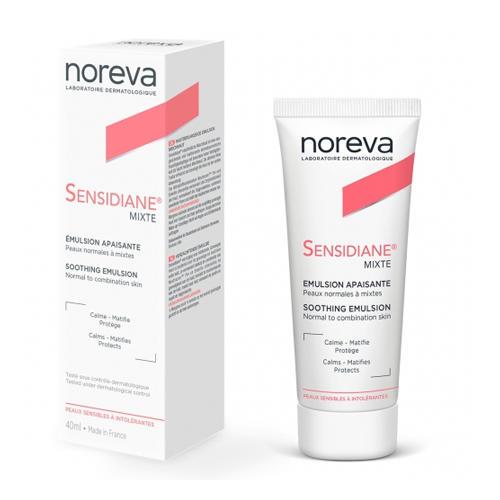Noreva Сенсидиан Успокаивающая эмульсия для нормальной и комбинированной кожи 40 мл (Noreva, Sensidiane) недорого