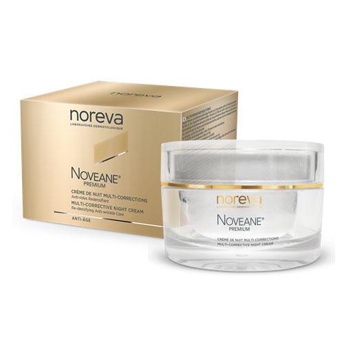 Noreva Новеан Премиум Мультифункциональный антивозрастной ночной крем для лица 50 мл (Noreva, Noveane Premium) косметика после 50 лет на айхерб