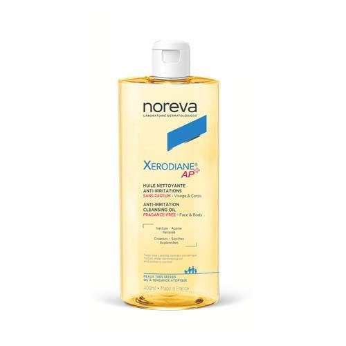 Noreva Очищающее липидовосстанавливающее масло без ароматизатора Ксеродиан АР+, 400 мл (Noreva, Xerodiane AP+) фото