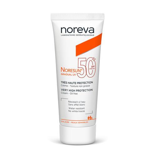 Noreva Норесан Градуал Крем с очень высокой степенью защиты SPF50+, 40 мл (Noreva, Noresun)