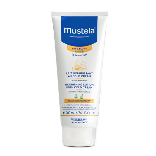 Питательное молочко для тела с кольдкремом, 200 мл (Mustela, Bebe защита кожи)