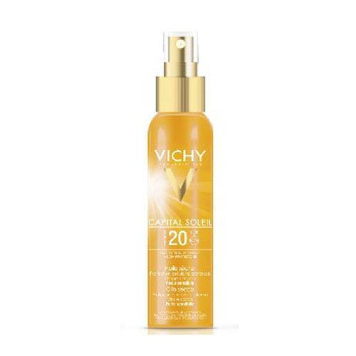 Солнцезащитное масло для тела SPF20 Капиталь солей 125 мл (Vichy, Capital Ideal Soleil) capital ideal soleil купить