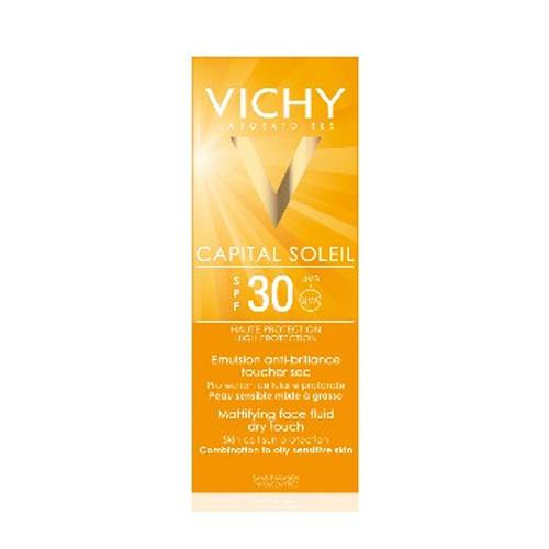 Матирующая эмульсия для лица Драйтач SPF30, 30 мл (Vichy, Capital Ideal Soleil) vichy набор для путешествий vichy ideal soleil 3 30 100 30 30 10 мл