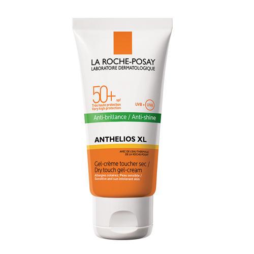 Антгелиос XL Быстросохнущий гелькрем SPF 50, 50 мл (La RochePosay, Anthelios) антгелиос xl ультралегкий флюид spf 50 50 мл la rocheposay anthelios
