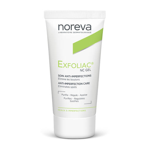 Эксфолиак NC гель 30 мл (Noreva, Exfoliac) noreva exfoliac гель очищающий