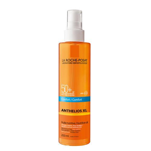 Антгелиос XL Невидимое питательное масло SPF 50, 200 мл (La RochePosay, Anthelios)