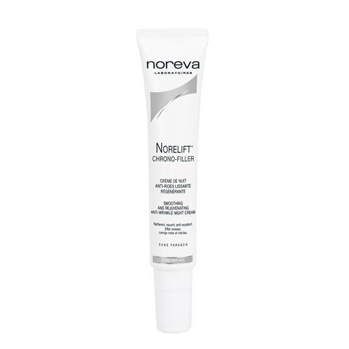 Noreva - Merck Хроно-филлер Разглаживающий омолаживающий ночной крем против морщин 40 мл (Norelift)
